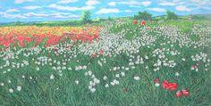 franco azzinari - Google Search Lavender Fields, Wild Flowers, Poppies, Grass, Google Search, Nature, Travel, Naturaleza, Viajes