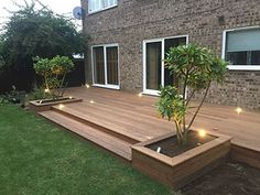 Astonishing Design Ideas for Modern Decks – Outdoor And Patio Ideas, Designs and DIY Plans. Backyard Patio Designs, Backyard Landscaping, Patio Ideas, Simple Deck Ideas, Back Deck Ideas, Small Deck Designs, Small Backyard Decks, Decks And Porches, Small Patio