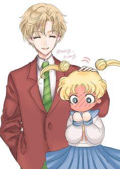 Sailor Moon sarja kuva suku puoli