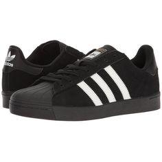 91ca9c88ec3ddf adidas Skateboarding Superstar Vulc ADV (Black White Black) Skate.