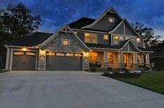 Craftsman  exterior home design | ... Designs House Plan 73325HS - Craftsman Jaw-Dropper craftsman exterior