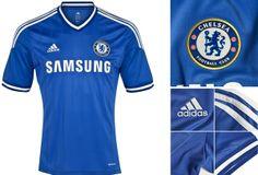 Camisa titular do Chelsea 2013-2014 - Novas camisas dos times europeus