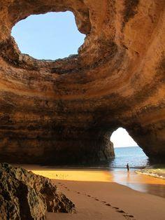 Sea cave – Algarve, Portugal