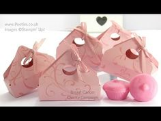 Breast Cancer Campaign Envelope Punch Board Box Tutorial - YouTube