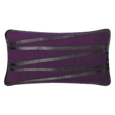 Kissen Taranto - 30 X 50 cm, Lila, Polyester / Baumwolle Typ 2