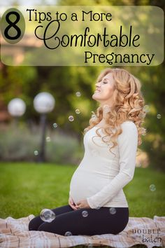 Pregnancy is hard enough with everything your body has to go through. Try these 8 simple ways to be more comfortable during pregnancy.