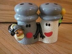Mr. Salt and Mrs. Pepper with baby paprika....you know your awesome if you remember when this first came out!