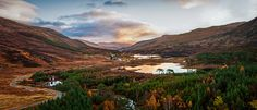 Glen Cannich Sunrise By #CraigMcCormick at destructivepixels.com