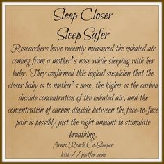 Benefits of safe co-sleeping arms reach co-sleeper