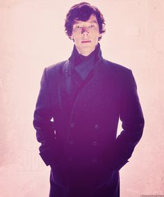 """""""There's only so many people who can play Sherlock Holmes in a generation and look it.""""-Steven Moffat"""