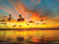 Check out our blog at dixieblue.com for more sneak peaks of our 2017 calendar!  Treasure Coast Sunset.   Photo courtesy of Harrison Whittaker | instagram.com/hrwhitt71