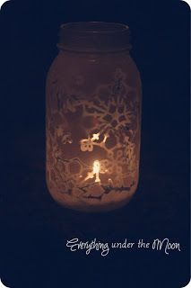 Everything Under the Moon: 12 Days of Christmas - Snowflake Lanterns