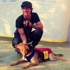 Ian somerhalder -ISF- The Ian Somerhalder Foundation is a great Foundation and everyone should check it out and participate to help our world become a better place!