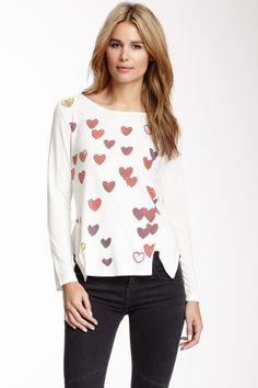 Slit Seams Sweater