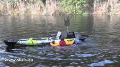Sot and Fishing Kayak Rescue Skills--Very important for getting back on the kayak if you capsize.