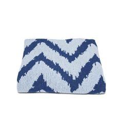 ZigZag Baby Blanket- Denim by in2green - Spark Living - online boutique for unique home decor, gifts and accessories $70.00