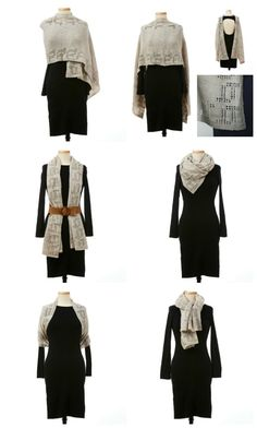 5 Ways to Style the Aegean Stole Learn How To Knit, How To Wear, Knit Wear, Shawl Cardigan, Shawl Patterns, Knitted Shawls, Spring Summer 2018, Wedding Trends, 5 Ways