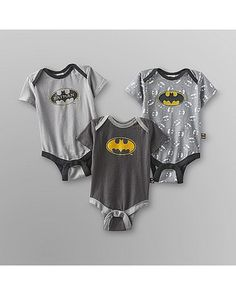 Comics DC Comics Infant Boys Bodysuit - from Kmart Baby & Toddler Clothing, Cute Baby Clothes, Babies Clothes, Babies Stuff, Kid Stuff, Baby Boy Outfits, Kids Outfits, Batman Outfits, Baby Batman