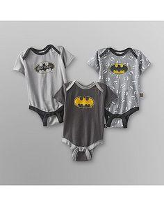 DC Comics DC Comics Infant Boys Bodysuit - 3-Pack from Kmart | Shop Parents.com