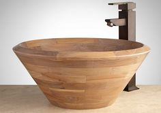 Wooden Sinks in Your Bath