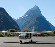 Scenic Flights Queenstown to Milford Sound & Mount Cook. Cruise Milford Sound on a sightseeing tour seeing waterfalls, dolphins, seals and other wildlife Australian Continent, Long Lake, Milford Sound, Boat Tours, South Island, Continents, New Zealand, Cruise, Waterfall
