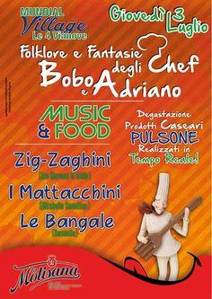 Music & Food alle 4 Vianove #Vinchiaturo #Molise