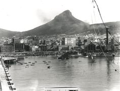 History Photo-Roggebaai, Table Bay, Cape Town- only an hour from Franschhoek home of La Clé des Montagnes Old Pictures, Old Photos, City By The Sea, History Photos, Most Beautiful Cities, Rest Of The World, Travel Planner, East Africa, Countries Of The World