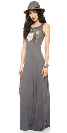 Wildfox Hibiscus Pink Shipwrecked Maxi | SHOPBOP