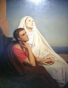 El Santo del Dia: 27 DE AGOSTO SANTA MÓNICA MADRE DE SAN AGUSTÍN