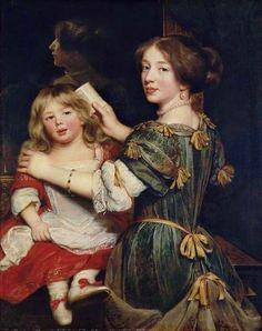 La dernière fille de l'artiste, vers 1672 Claude Lefebvre