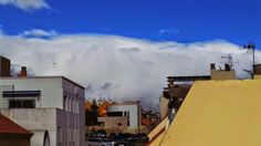 Travel ... Canary Islands ..Mirando al Cielo : Nubes sobre Maspalomas en Gran Canaria