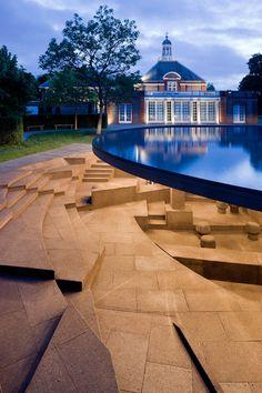 Serpentine Gallery Pavilion 2012 Designed by Herzog & de Meuron and Ai Weiwei