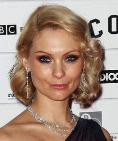 See 20 Long Bob Hairstyles We Love: MyAnna Buring's Hair Curled for a Formal Occasion