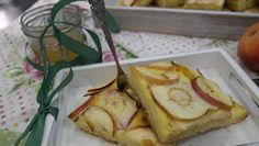 Rezept: Apfelkuchen mit Eierlikör-Schuss Sweet & Easy, Piece Of Cakes, Balanced Diet, Camembert Cheese, French Toast, Bakery, Food And Drink, Bread, Breakfast