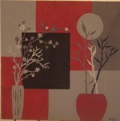 Fleurs d'Asie en contraste - Fleurs d'Asie en contraste - Vous aimez créer vos propres tableaux avec le home déco ?