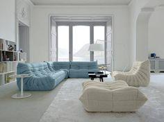 Amplia gli spazi utilizzando i colori pastello o il total white. Arredare Casa.