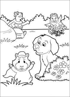 Wonder Pets Coloring Pages 10