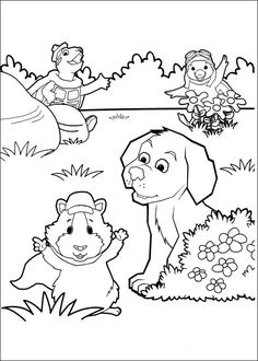 Wonder Pets Coloring Pages 4 Coloring pages for kids Pinterest