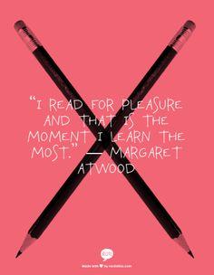 Margaret Atwood on #Reading