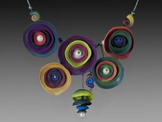Tabakman-Multicolor nested necklace | Flickr - Photo Sharing!