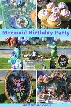 Kara's Party Ideas Mermaid Birthday Party | Kara's Party Ideas