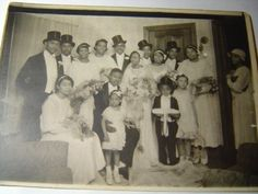 Vintage Elegant African American Wedding 15 People | eBay