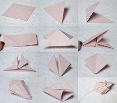 Origami tulipán. Újságpapírból, magazin- vagy kottalapból is elkészíthető – Életszépítők