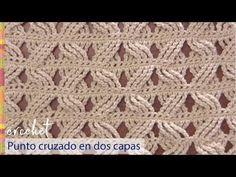 Punto ruso a crochet imitación frivolité ¡lindo y diferente! - Tejiendo Perú - YouTube