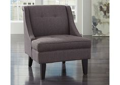 Clarinda - Gray - Accent Chair by Signature Design by Ashley. Get your Clarinda - Gray - Accent Chair at JB's Furniture, Milwaukee WI furniture store. Accent Furniture, Living Room Furniture, Home Furniture, Furniture Removal, Furniture Ideas, Side Chairs, Dining Chairs, Dining Room, Bar Chairs