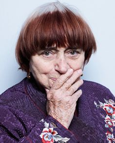 Agnes Varda at Cannes this year