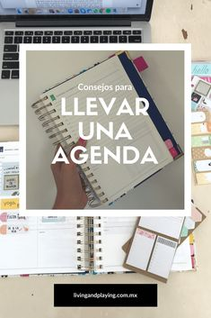 Cómo llevar una agenda – Living and Playing Bullet Journal Materials, Household Binder, Get Educated, Staying Organized, Bujo, Ideas Para, Hand Lettering, Life Hacks, Mindfulness