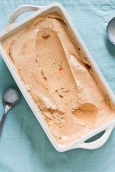 **** Dulce de Leche Ice Cream - Delicious. Mix in all the caramel next time.