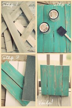 DIY Photography Boards