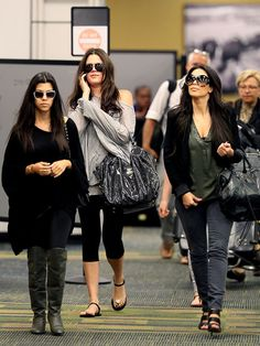 kardashian. perfect travel outfit ideas